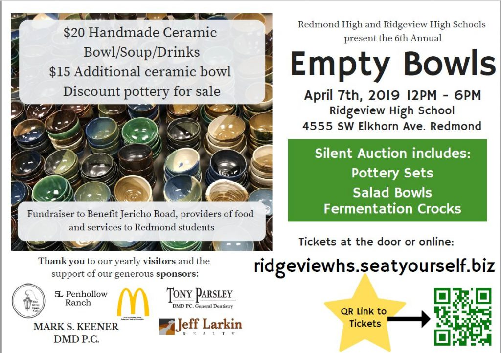 Empty Bowls 2019 @ Ridgeview High School